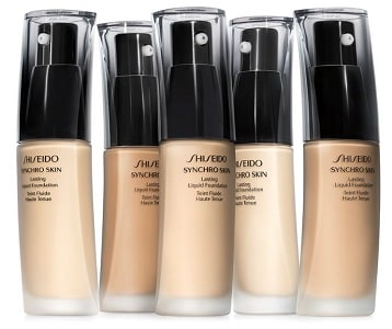 Synchro Skin Glow Luminizing Foundation, Shiseido