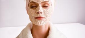 Домашняя маска для лица с аспирином и овсяными хлопьями