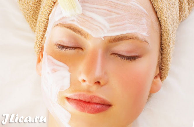 маски из молока для кожи лица