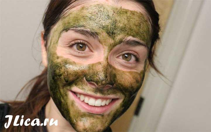 спирулина желатин маска для лица в домашних условиях