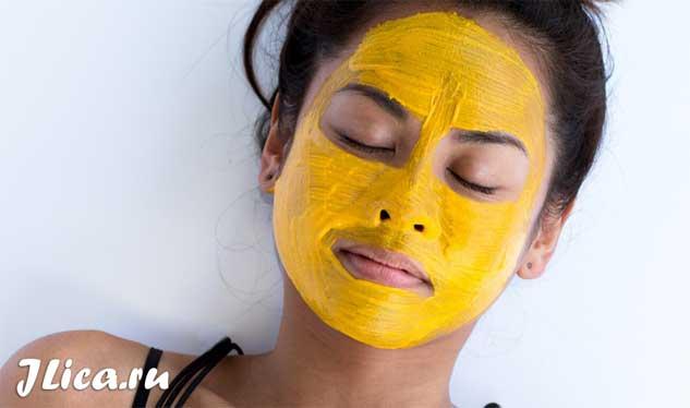 Желтая глина для лица свойства маски