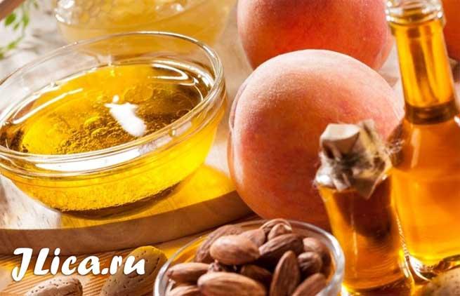 Применение персикового масло наносить на лицо отзывы