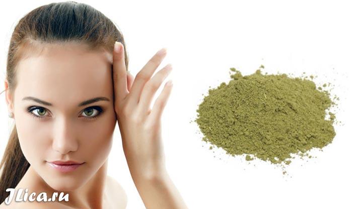 Хна для лица маски эффект очищение кожи