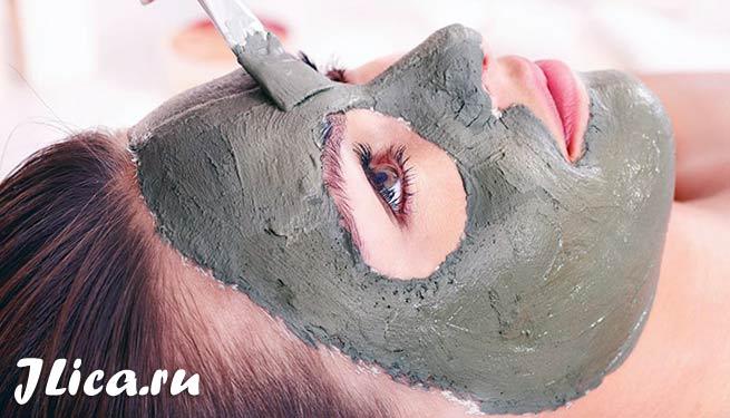 маска из серой глины для лица рейепты