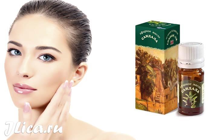 Эфирное масло сандала для лица