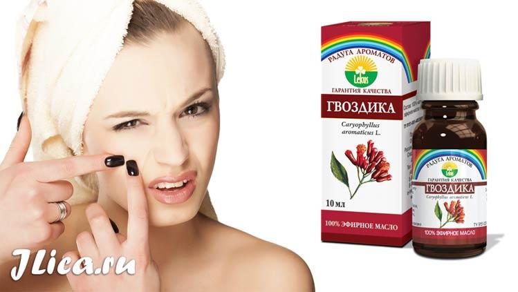 Эфирное масло гвоздики для лица