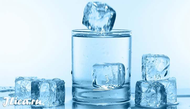 косметический лед для лица в домашних условиях минеральная вода