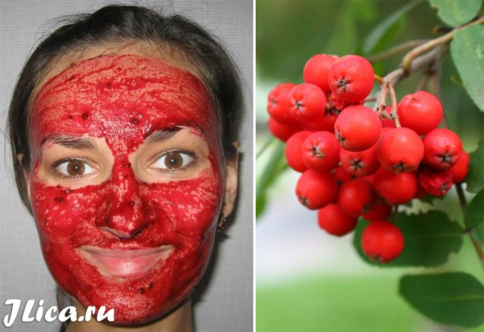 рябина для лица польза и вред маски