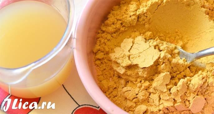 сухая горчица для лица рецепты масок