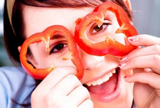 Болгарский перец для кожи лица маска