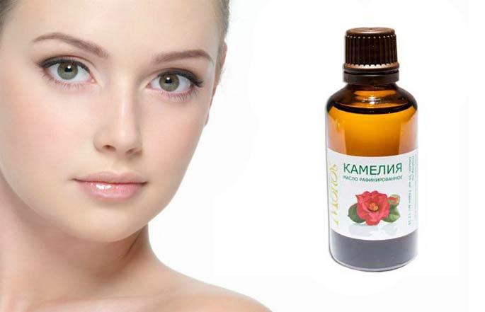 масло камелии применение для кожи лица