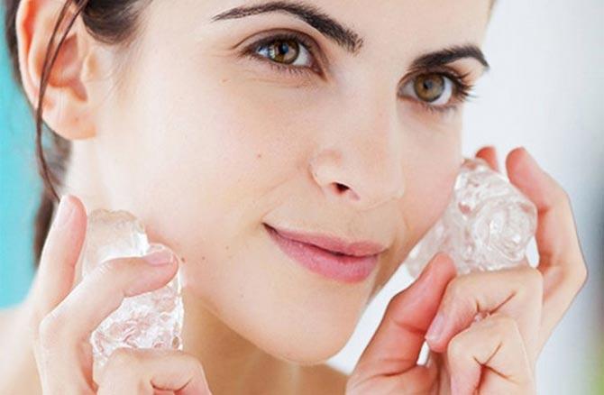 Лед для пористой кожи лица в домашних условиях