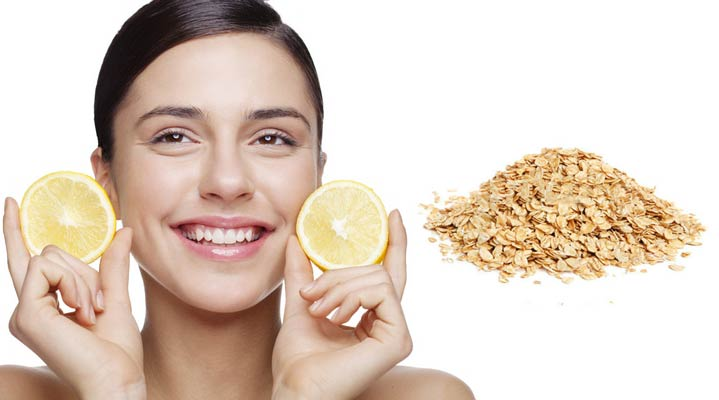 Маска для тонуса кожи лица народными средствами лимон овсянка