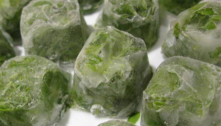 Лед с травами для лица в домашних условиях