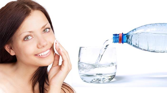 Минеральная вода для лица в домашних условиях