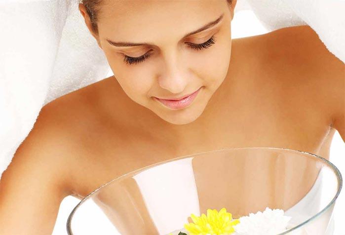 Паровая ванночка для пористой кожи средства