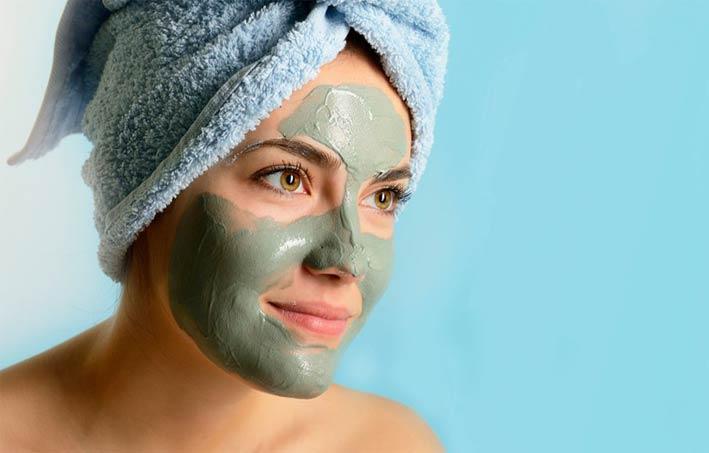 Подсушить лицо маска с глиной