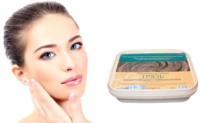 Ейская грязь для кожи лица применение в косметологии маска
