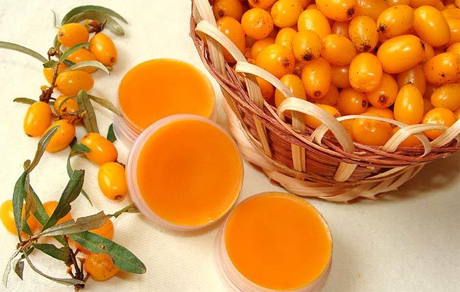 облепиха для кожи лица масло ягоды