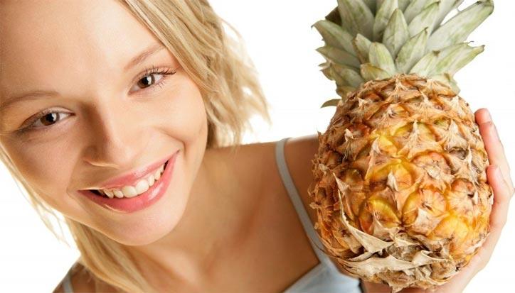 ананас для лица свойства