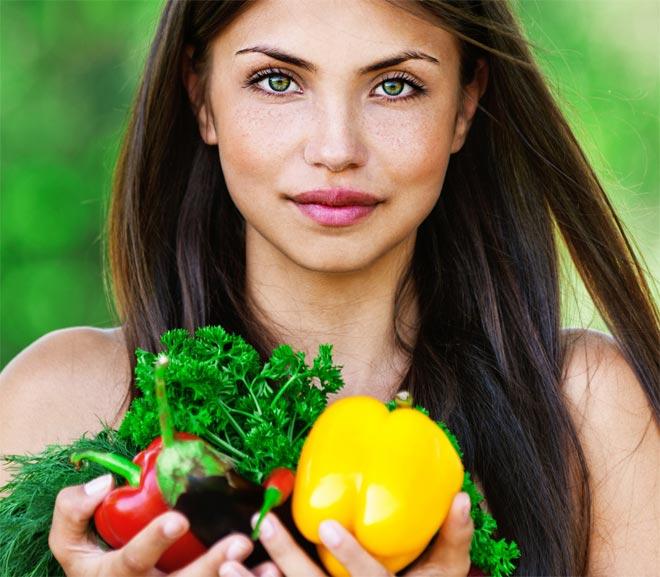 овощи для кожи лица