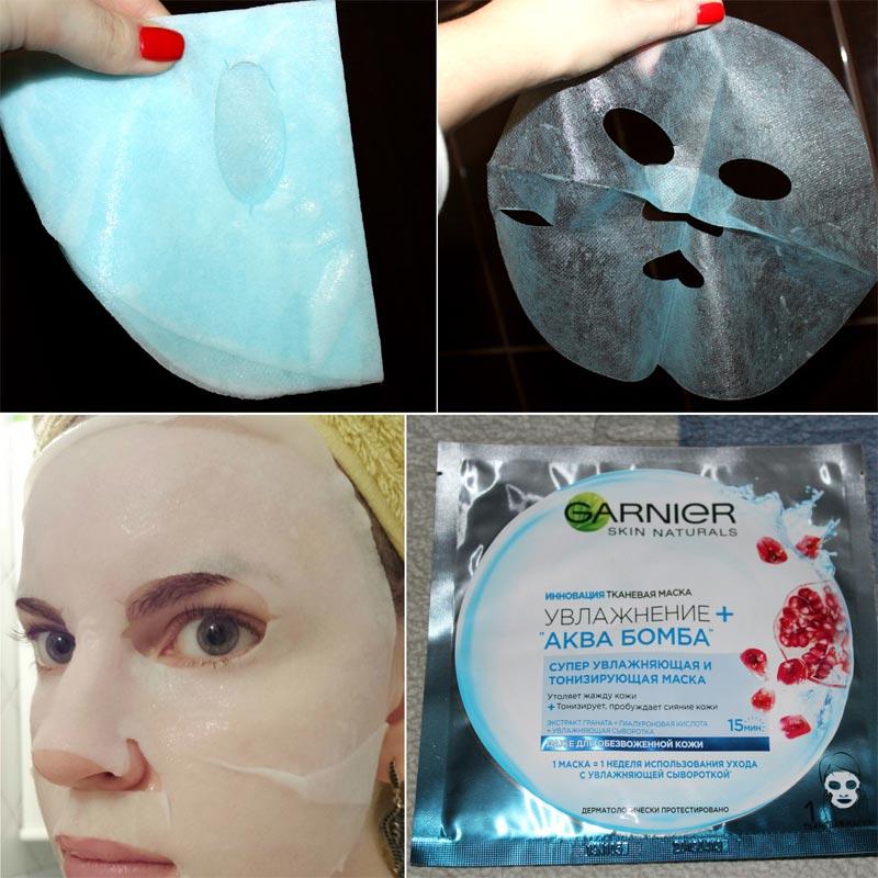 аква-маска Garnier