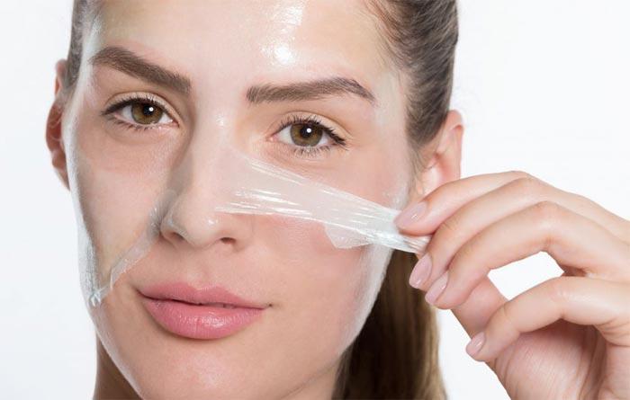 маска пленка в домашних условиях