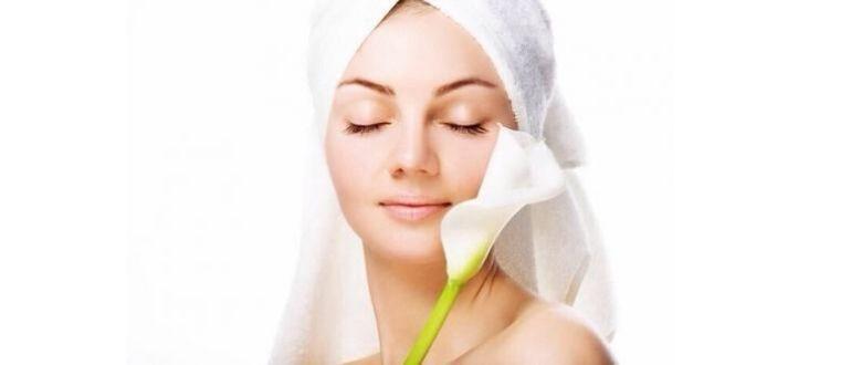 Гоммаж для очищения кожи лица