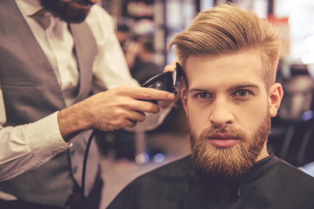 мужской парикмахер в барбершоп haft