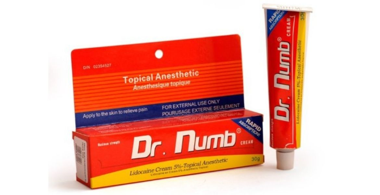 Обезболивающий крем перед эпиляцией «Dr.Numb»