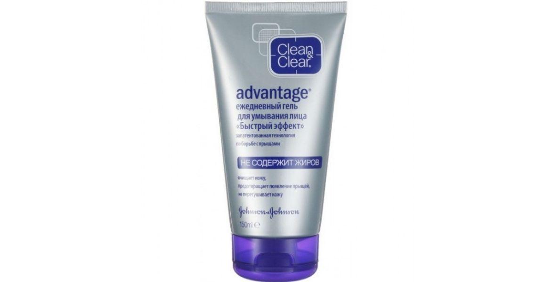 Гель для умывания, для проблемной кожи Clean & Clear от Advantage