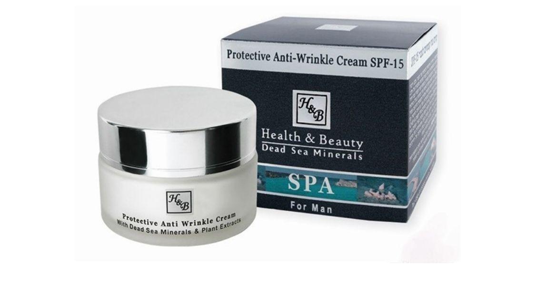 Защитный крем от морщин для мужчин Health & Beauty