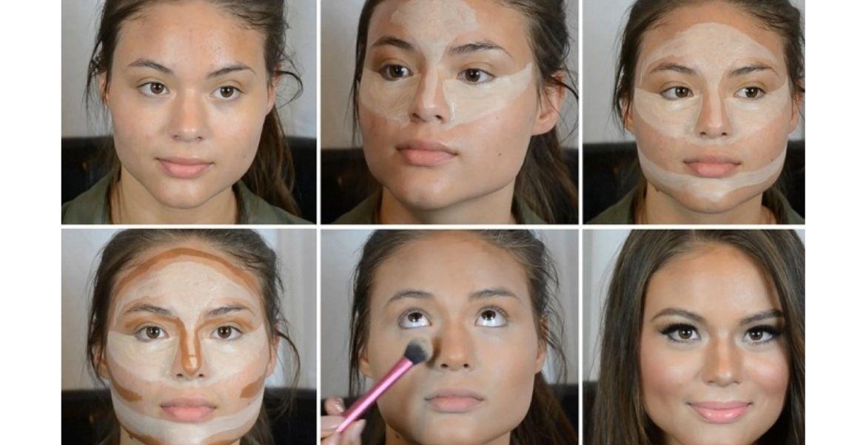 скульптурирование лица для начинающих