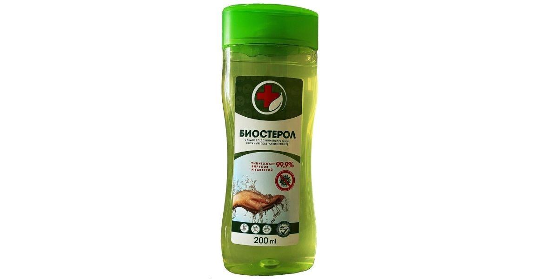 Гелевый антисептик для рук Биостерол